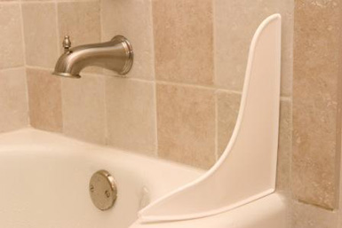 5TT-BN Tidee Tubb Bath Tub Splash Guard 9-1/4 Inch Length x 11 Inch