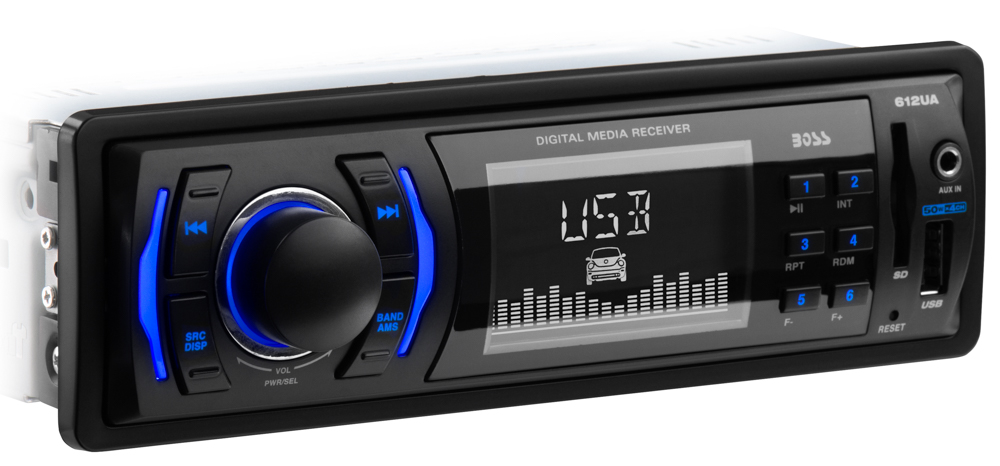 612UA Boss Audio Radio AM/FM Single DIN
