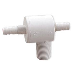 6115-1 ATTWOOD Fresh Water RV Check Tee 1/2