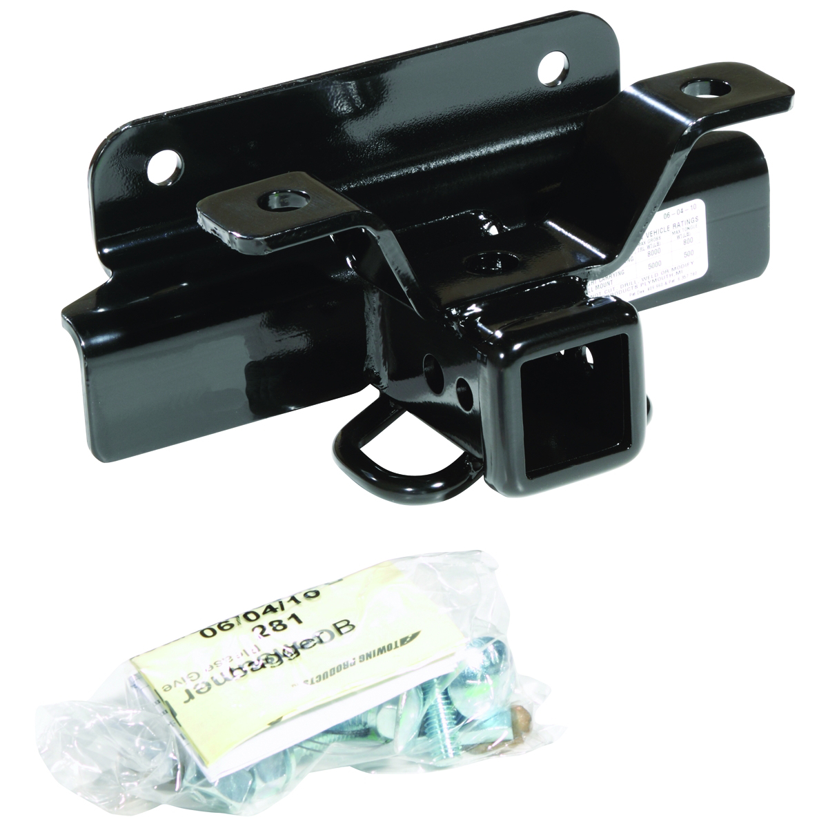 69458B TrailFX Trailer Hitch Rear Class III/ IV