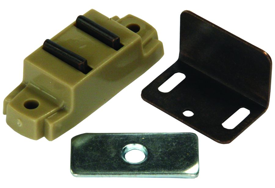 70275 JR Products Door Catch Use To Keep Cabinet Doors Closed