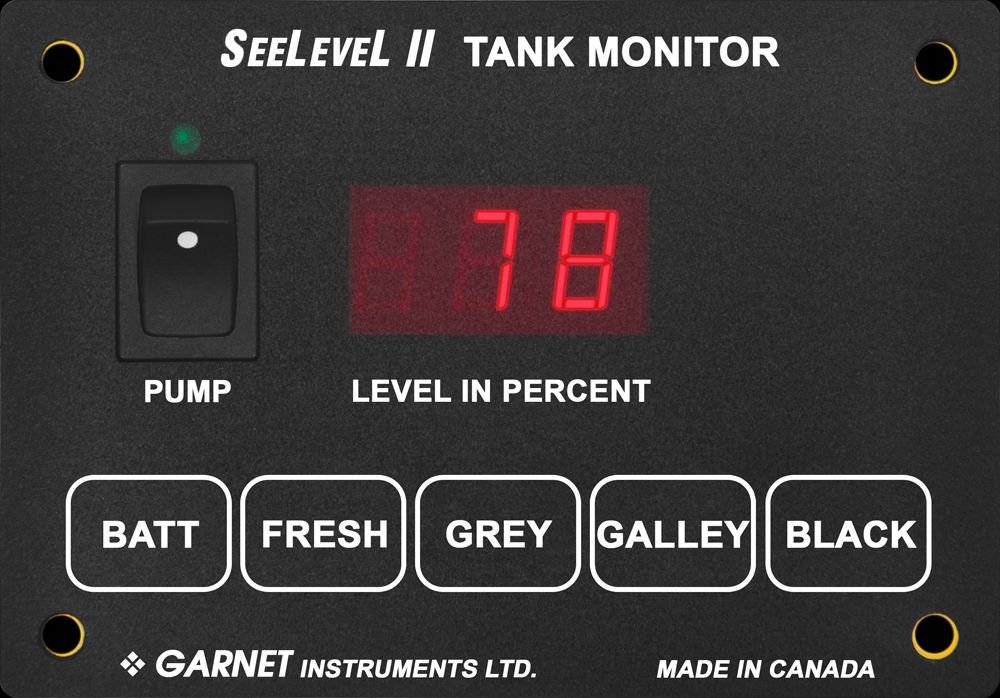 709-4P-1004 SeeLevel Tank Monitor System Used To Monitor Battery