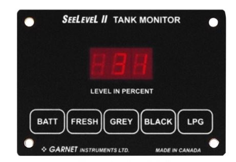 709-P3-1003 SeeLevel Tank Monitor System Used To Monitor Battery
