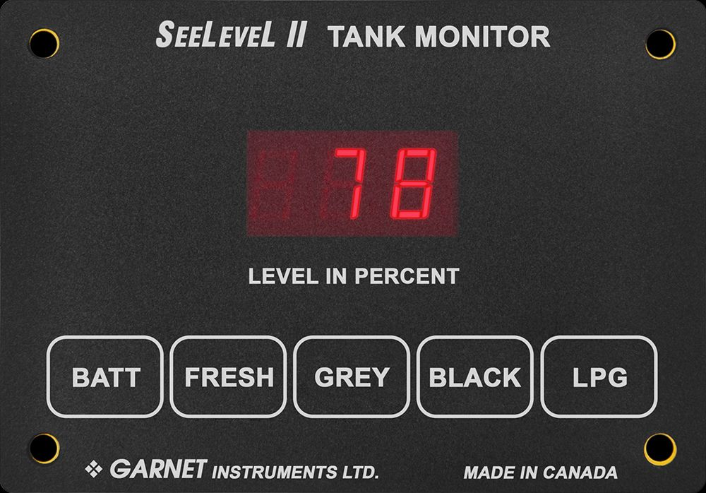709-1003 SeeLevel Tank Monitor System Used To Monitor Battery