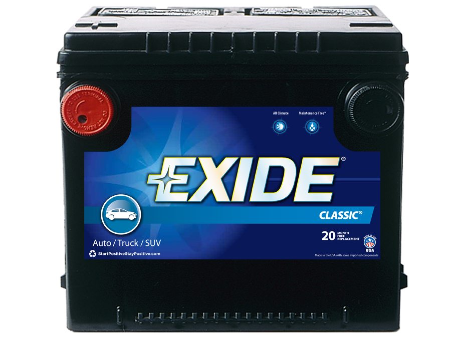 70C Exide Technologies Battery OE Replacement