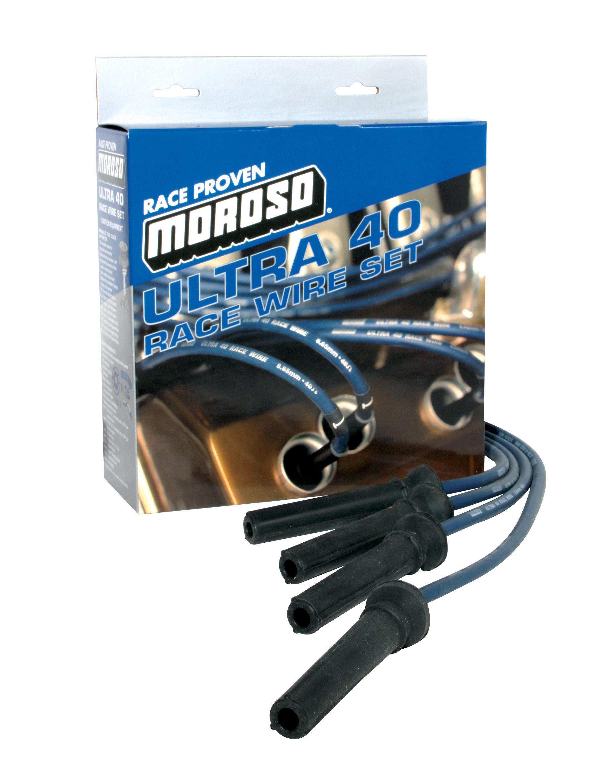 73801 Moroso Performance Spark Plug Wire Set Unembled on