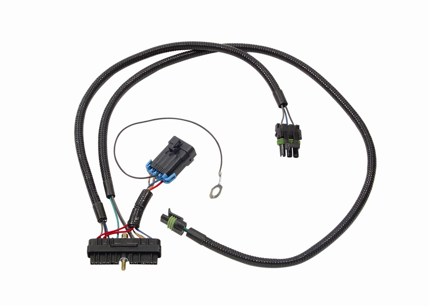 77659 accel ignition ignition control module tuner wiring harness for use with accel dfi fuel management system Stepper Motor Wire Harness