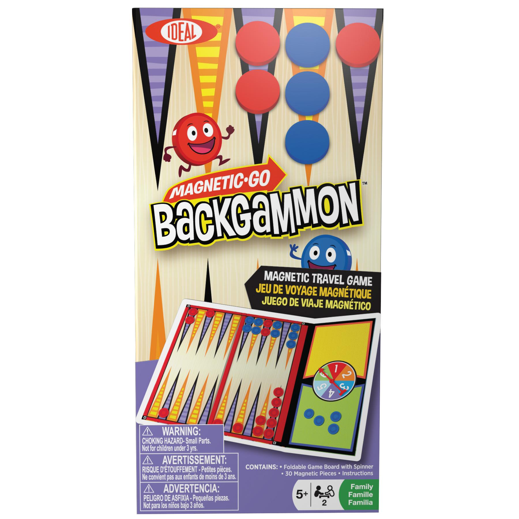 8-32507TL Poof Slinky Board Game Magnetic-Go Backgammon Game