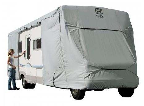 80-128-151001-00 Classic Accessories RV Cover For Class C Motorhomes