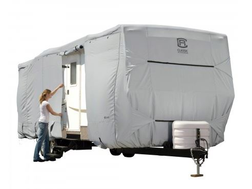 80-134-141001-00 Classic Accessories RV Cover For Travel Trailers
