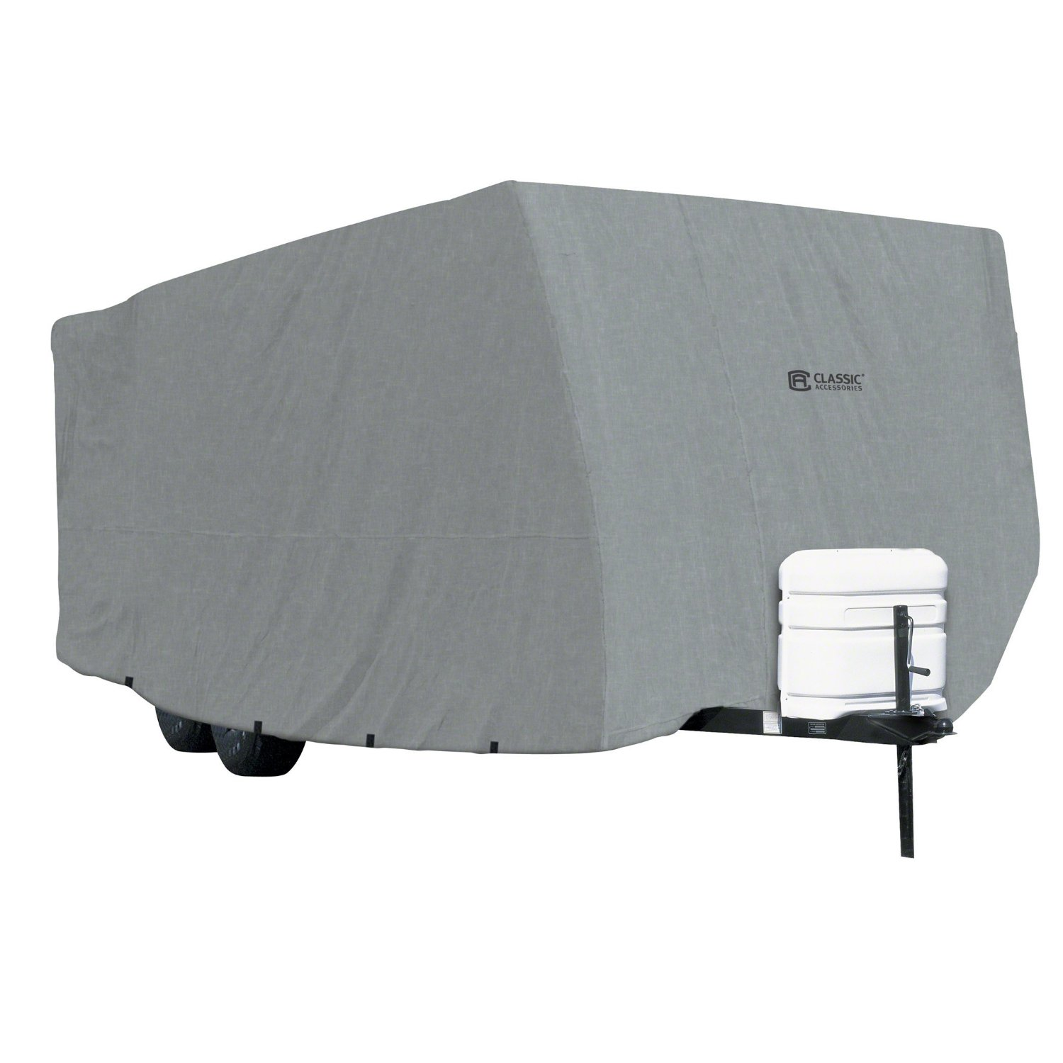 80-214-201001-00 Classic Accessories RV Cover For Travel Trailers