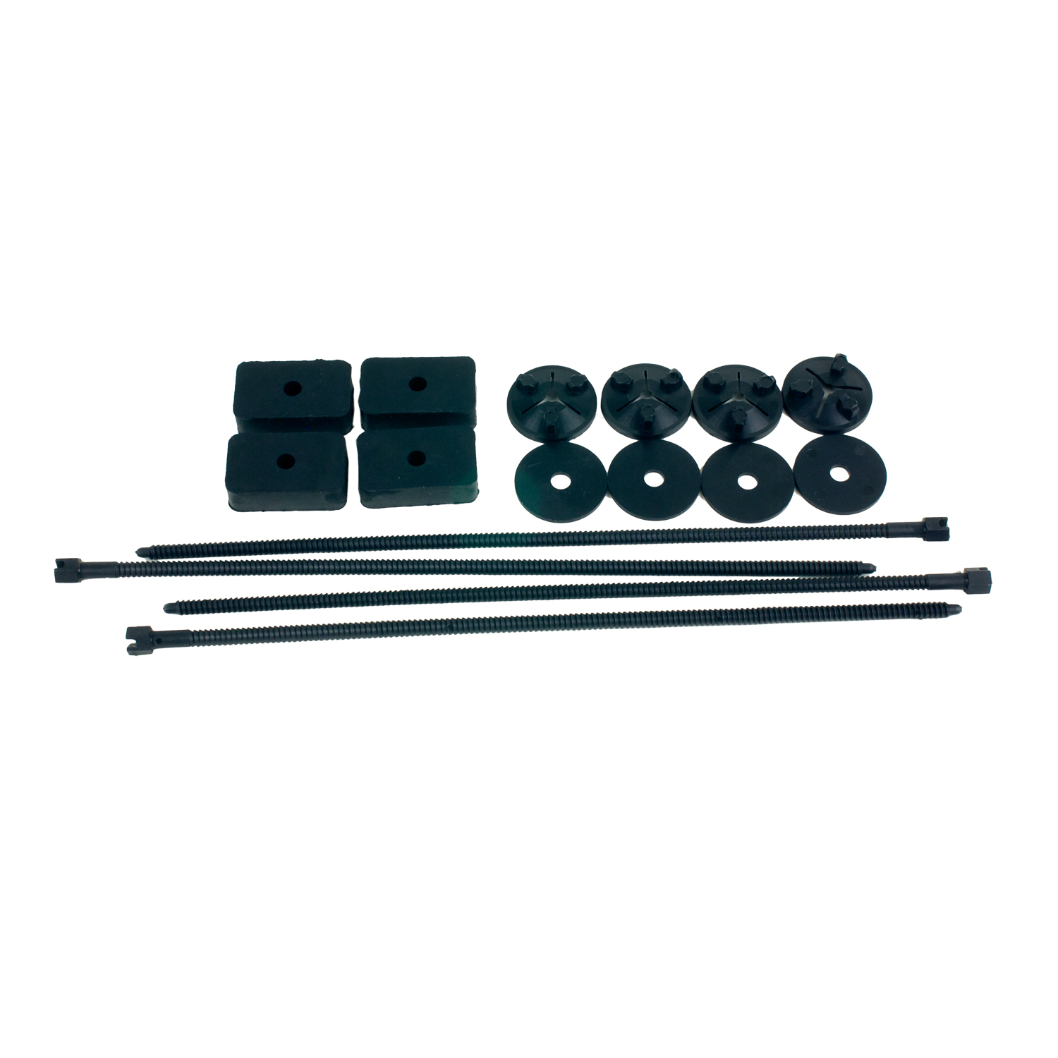 80278 B&M Performance Fluid Cooler Installation Kit For