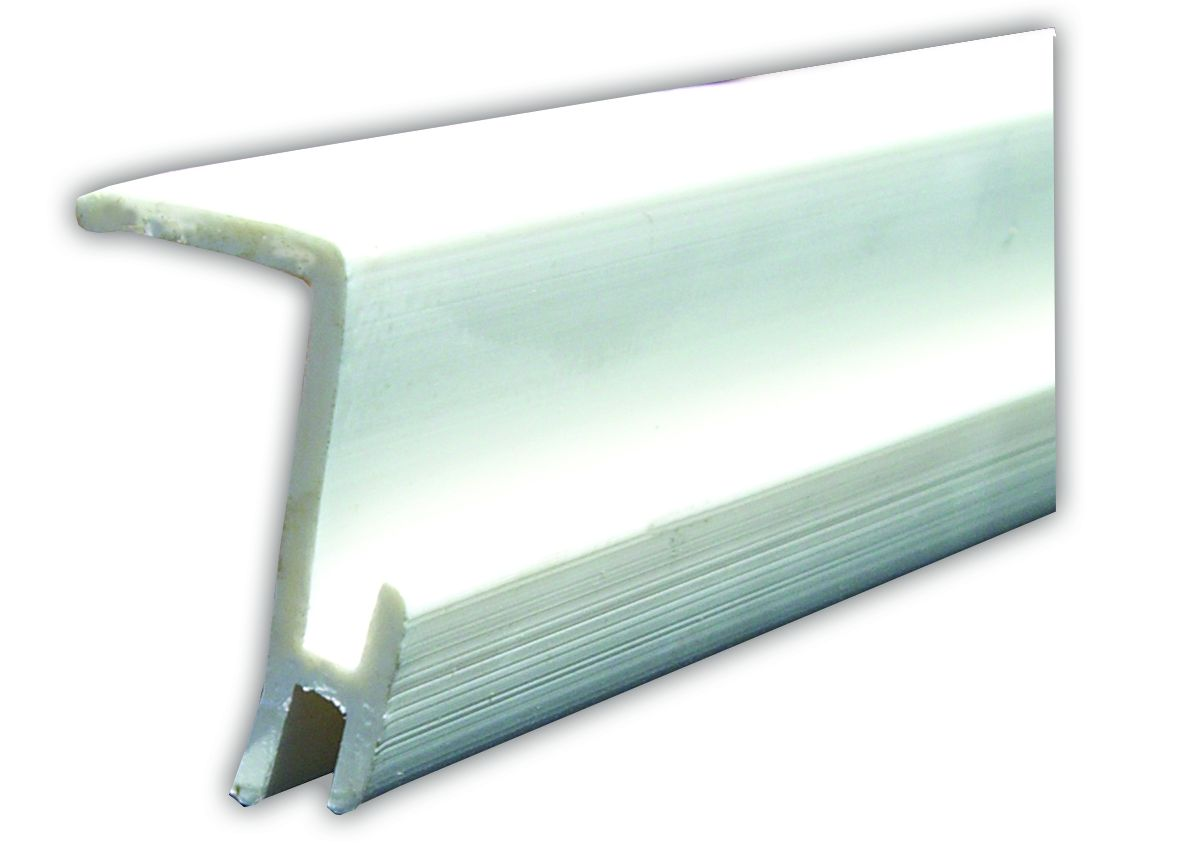 80371 JR Products Window Curtain Track Type D Ceiling Mounted Slide