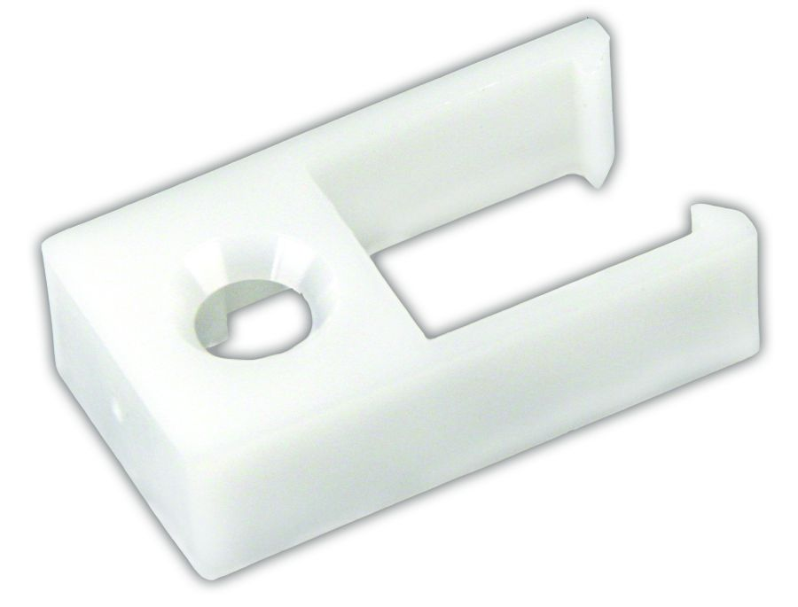 81385 JR Products Window Curtain Track End Stop Use With Type D