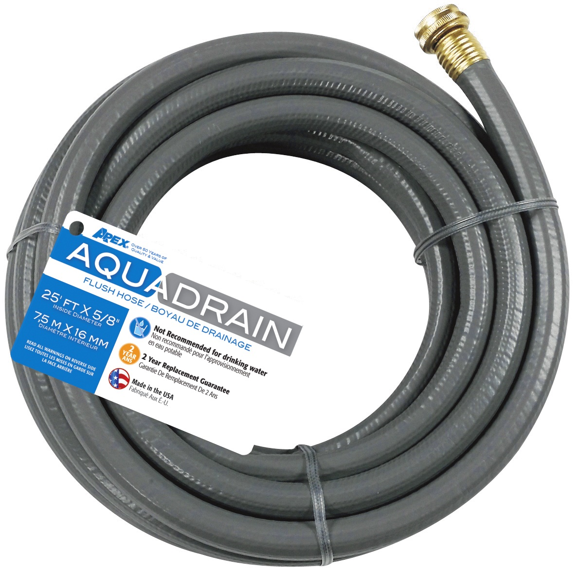 828VR-25 Teknor Apex Waste Water Hose Use To Drain Gray Water Tank