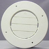8840WH D&W Inc. Heating/ Cooling Register Round