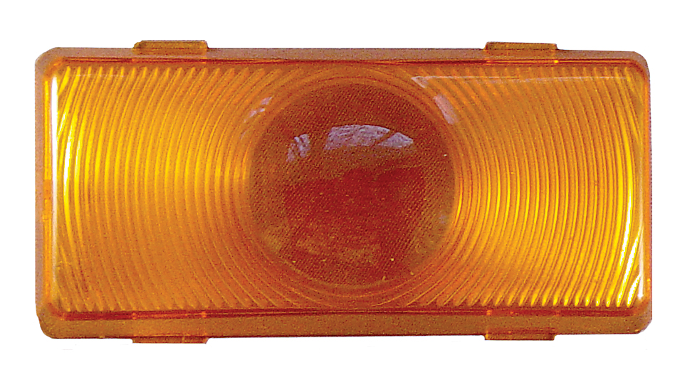 Fasteners Unlimited 89-100A Amber Lens for Porch Light