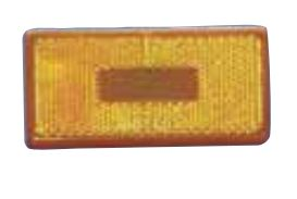 89-181A Fasteners Unlimited Tail Light Lens Amber