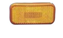 89-237A Fasteners Unlimited Tail Light Lens Amber