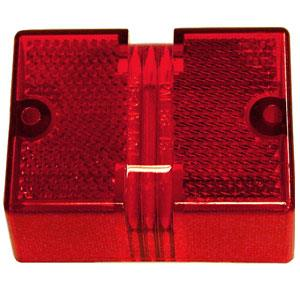 56-15R Peterson Mfg. Turn Signal-Parking-Side Marker Light Lens