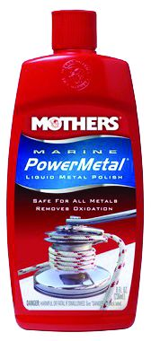 91048 Mothers Metal Polish Use To Remove Tarnish/ Light Surface Rust/