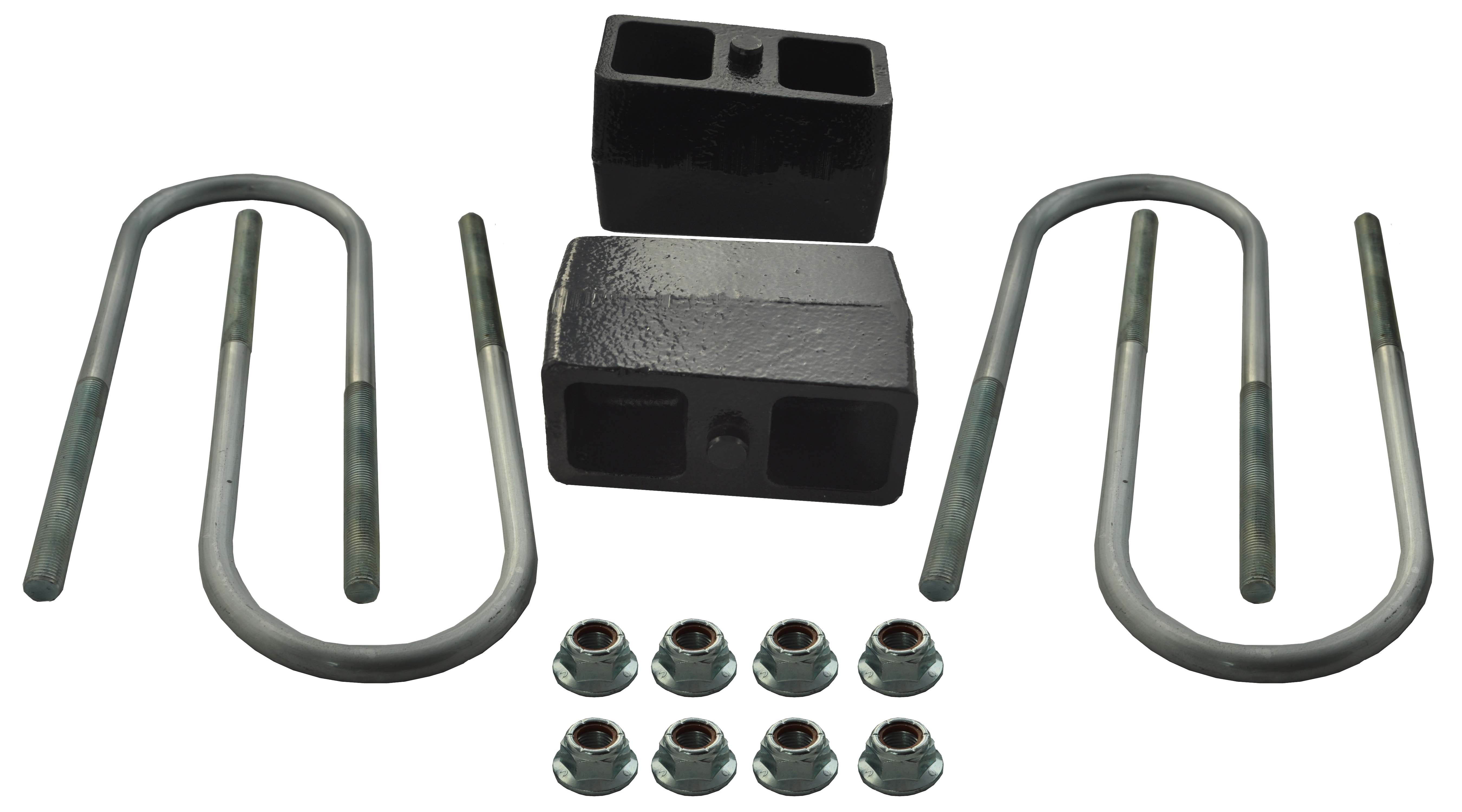 91127 Ground Force Leaf Spring Block Kit 2 Inch Lift