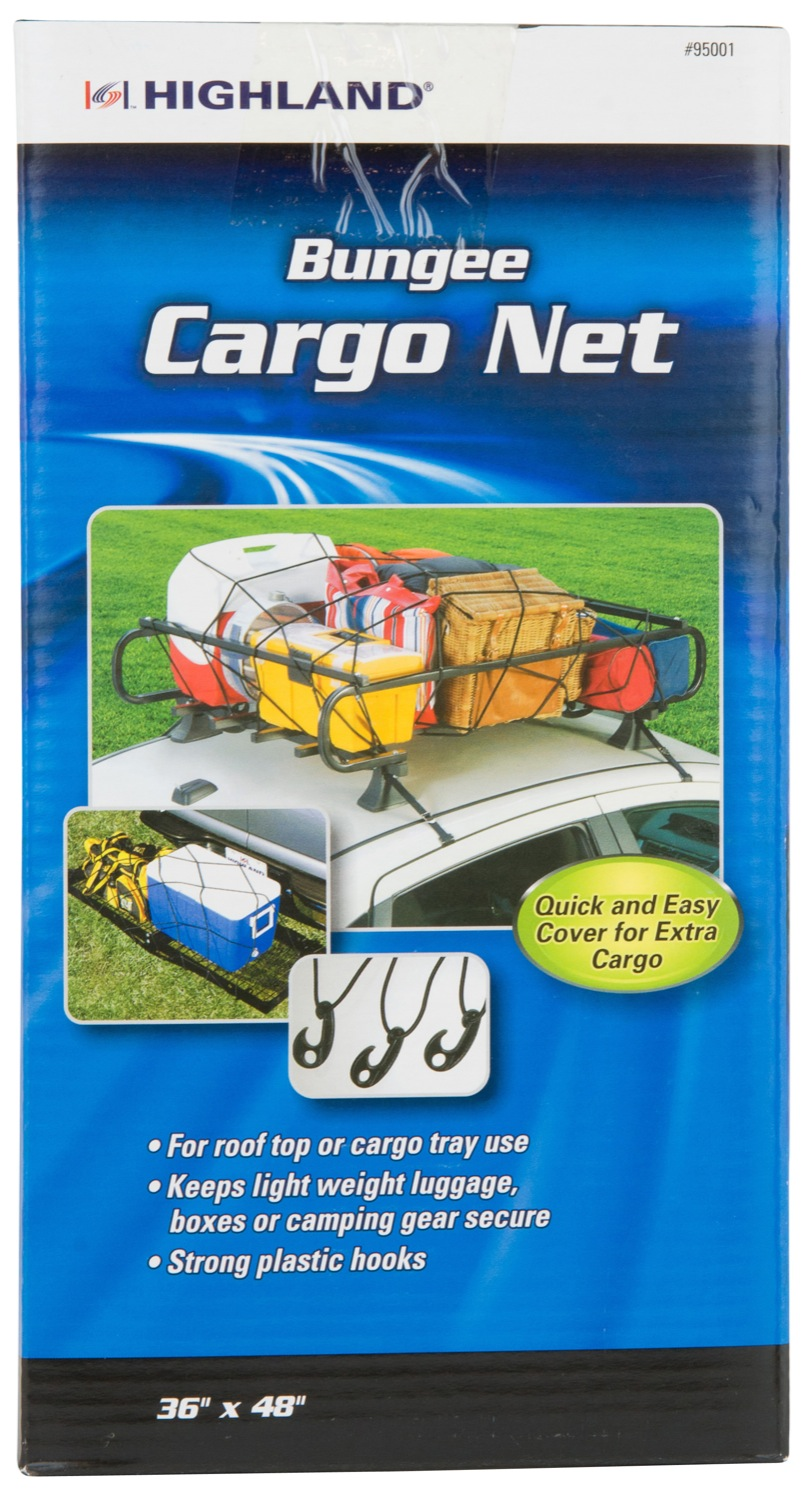 9500100 Highland Exterior Cargo Net Recommended For Truck Bed/ Can Be