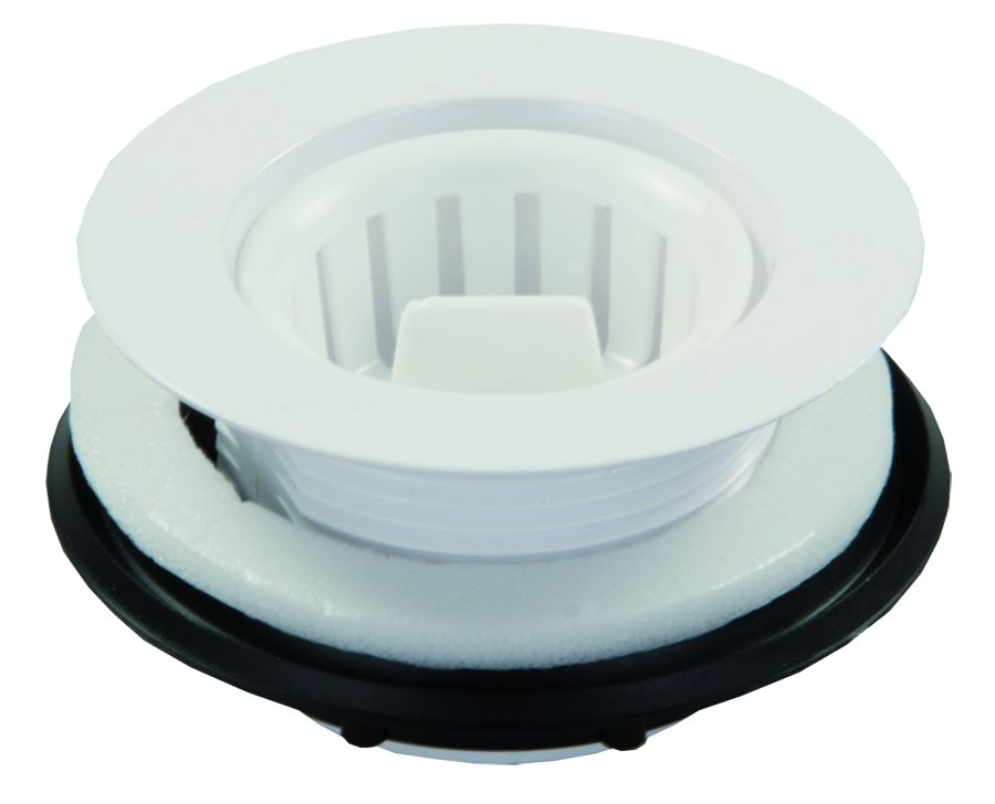 95015 JR Products Sink Strainer Fits Up to 2 Inch Drain Opening