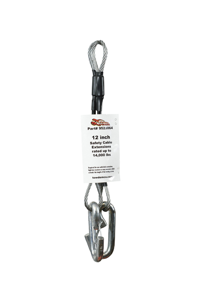 9523064 Demco RV Trailer Safety Cable 7000 Pound Rated