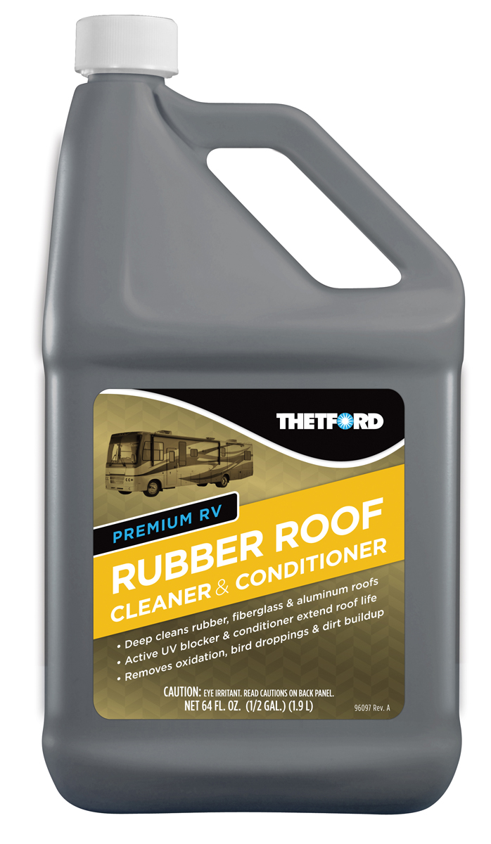 96016 Thetford Rubber Roof Cleaner Use To Remove Oxidation