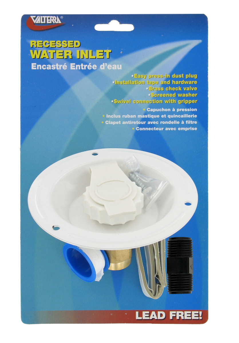 A01-0176LFVP Valterra Fresh Water Inlet Used For RV Fresh Water System