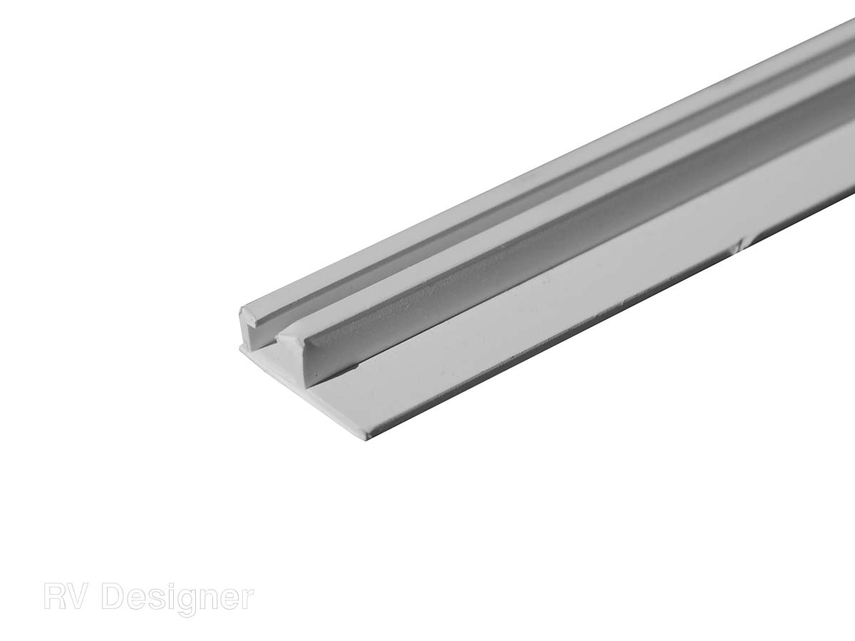 A206W RV Designer Window Curtain Track Ceiling Mount Track