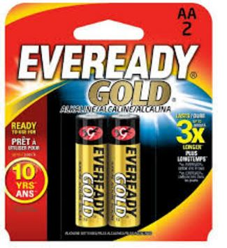 A91BP-2 Eveready Battery Use With Remotes/ Radios/ Calculators And