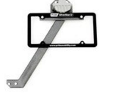 ACCASMB2289 Pride Mobilty License Plate Relocation Kit For Pride