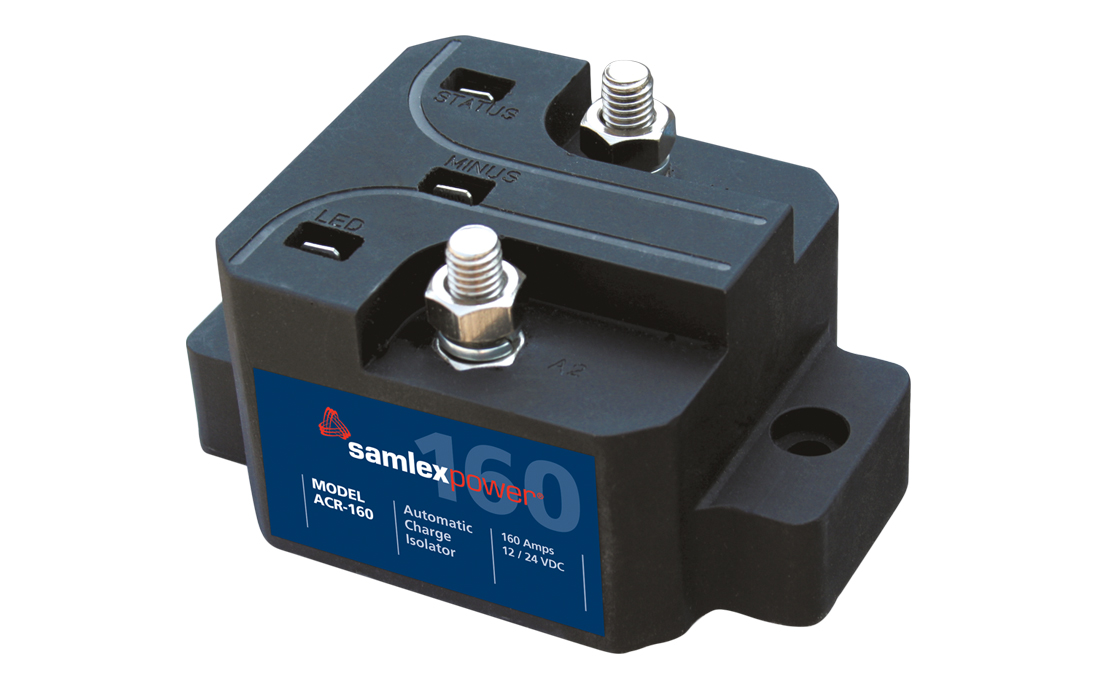 ACR-160 Samlex Solar Battery Isolator For Use With 12 Volt Battery