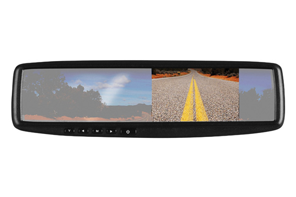BV430RVM Boss Audio Backup Camera With 4.3 Inch Rear View Mirror