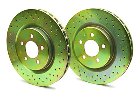 33S50039 Brembo Brake Rotor Cross Drilled