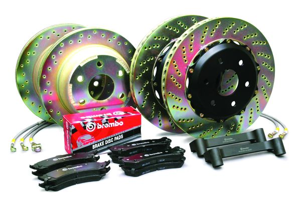 Brembo 1M18015A1 Brake System for Ford Mustang