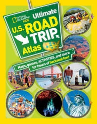 BK26309335 National Geographic Atlas United States Kids Road Atlas