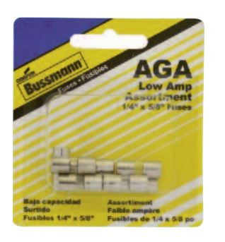 BP/AGA-AL8-RP Bussman Fuse Assortment AGA Glass Fuse