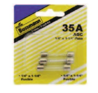 BP/AGC-10-RP Bussman Fuse Glass Tube