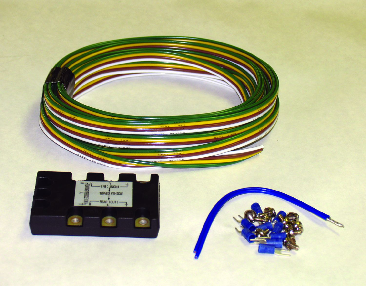 BX8811 Blue Ox Towed Vehicle Wiring Kit Hardwire Diode