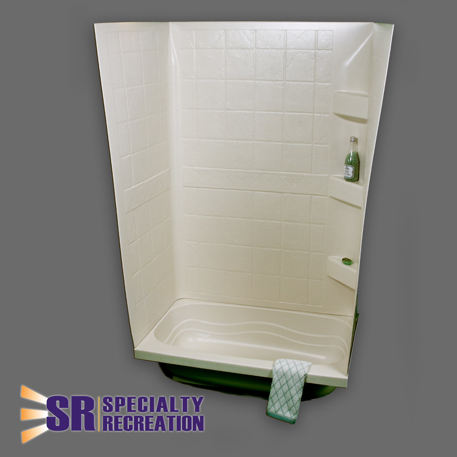 TW2438P Specialty Recreation Shower Surround 38 Inch Length x 24 ...