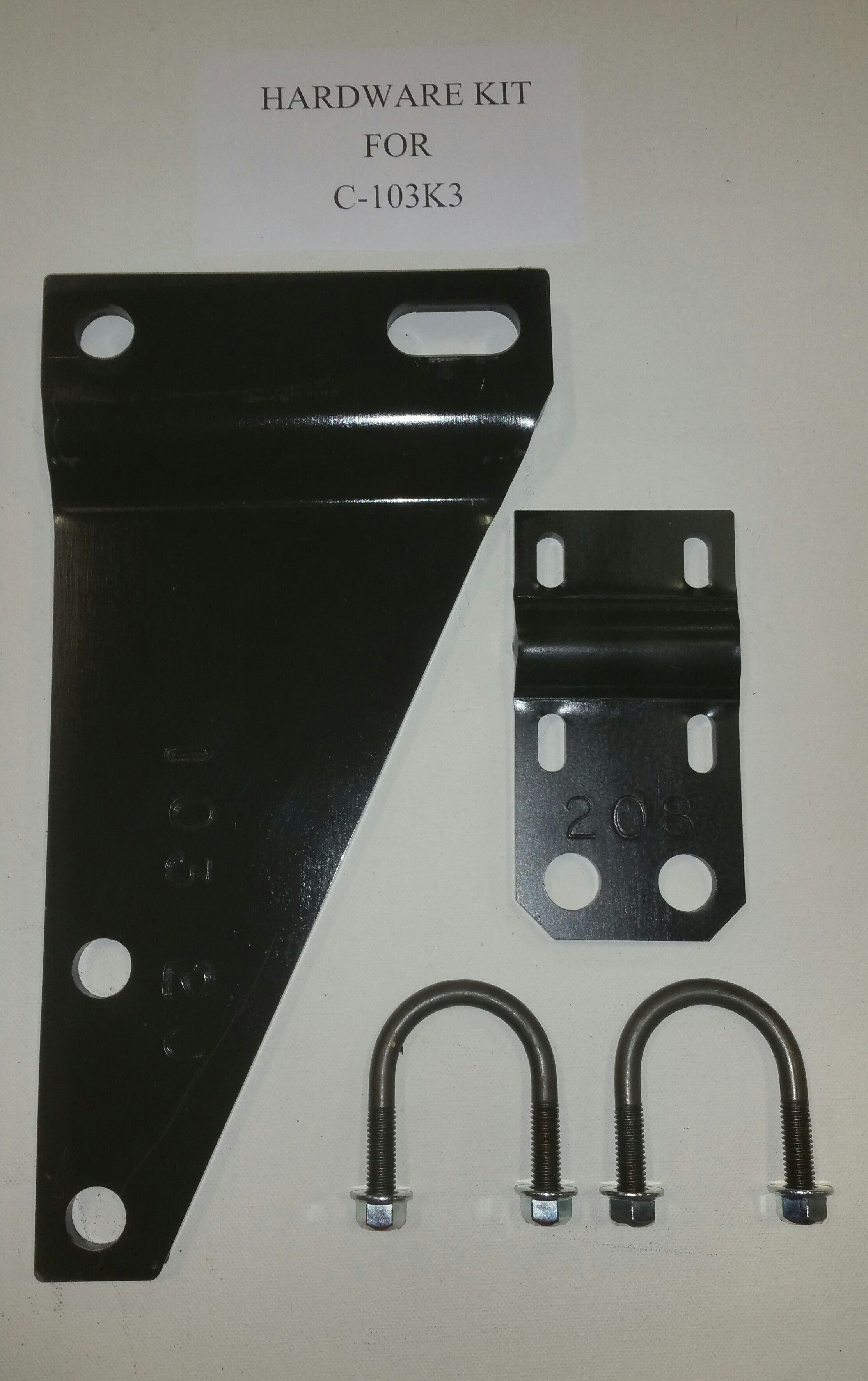 C-103K3 Safe-T-Plus Steering Stabilizer Bracket With Part Number