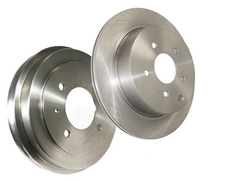 22840017DL Stop Tech/ Power Slot Brake Rotor Silver E-Coated Double