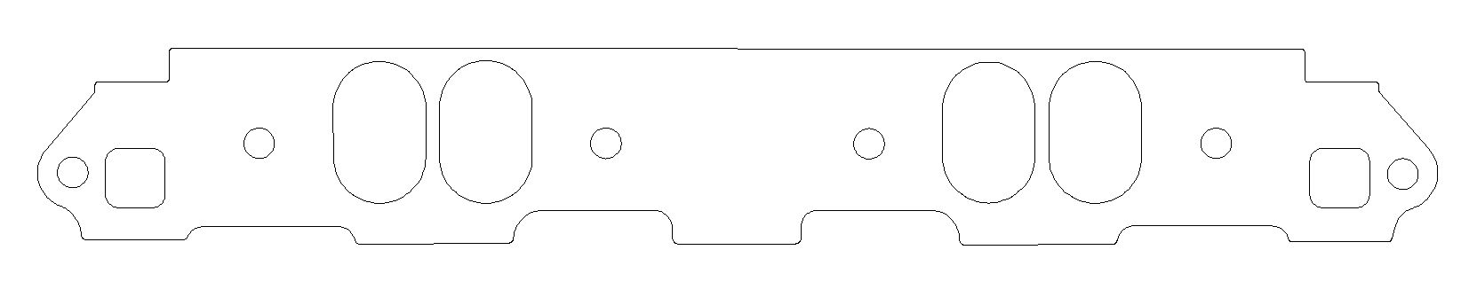 C5569-060 Cometic Gasket Intake Manifold Gasket For Use With