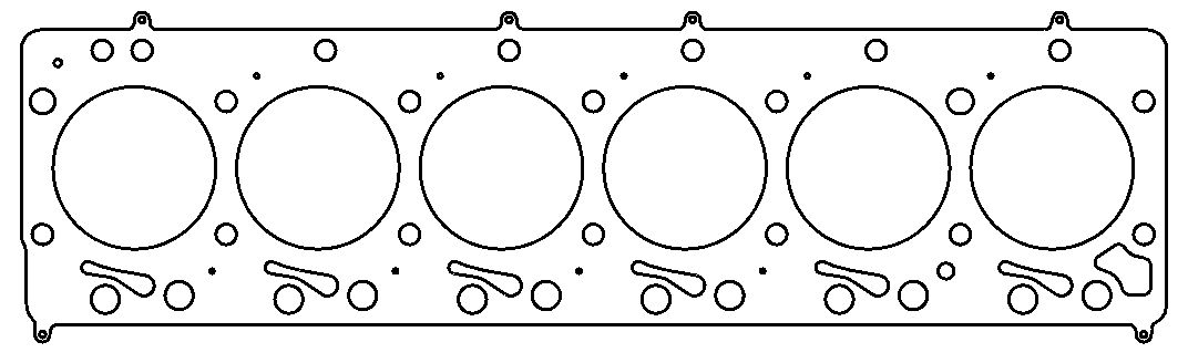 C5955-061 Cometic Gasket Cylinder Head Gasket For Use With 1992-1997
