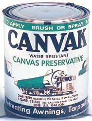 CANVAK Buckeye Water Repellent For Canvas Tents/ Tarpaulins/ Covers