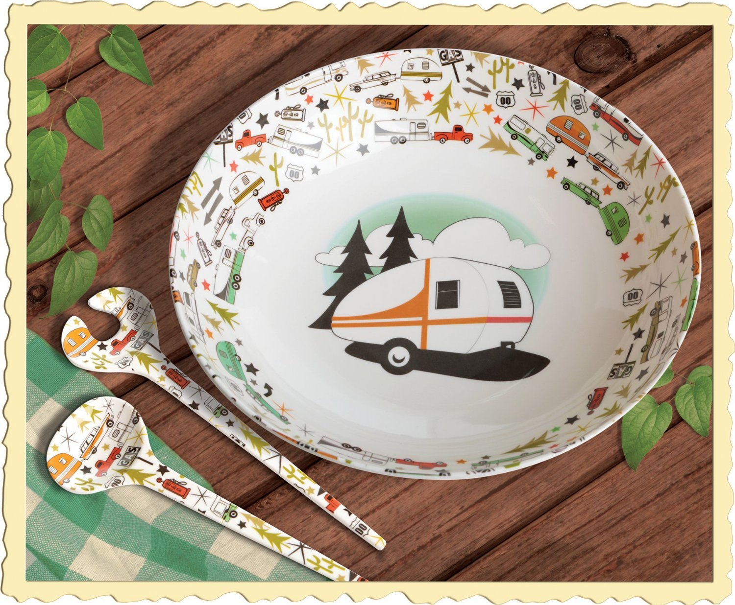CC-003 Camp Casual Dish Set Multiple Color