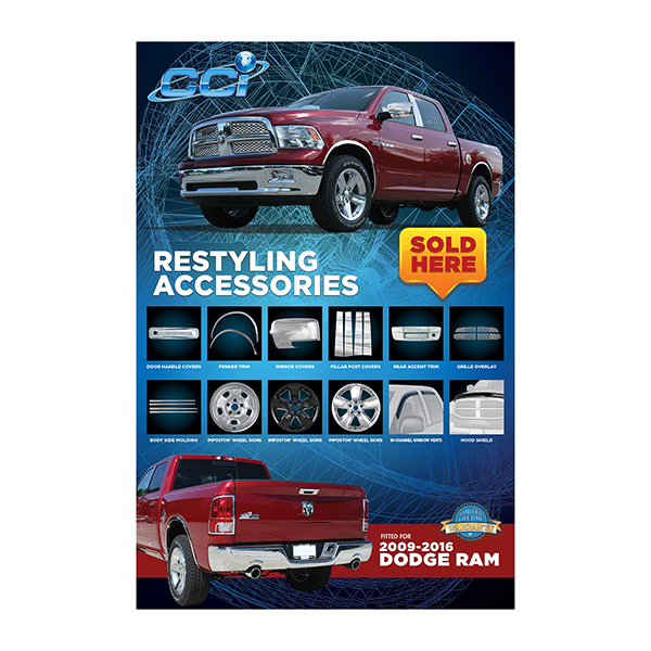 CCIDODGE Coast To Coast Poster Coast To Coast Restyling Accessories